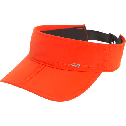 The crowning jewel of your summertime ensemble is definitely the Outdoor Research Radar Visor. Featuring UPF-30-rated sun protection, a comfortable adjusting headband, and a folding brim for easy storage, the Radar packs in all the advantages of a cap without smothering your dome in stifling sweat. - $20.95