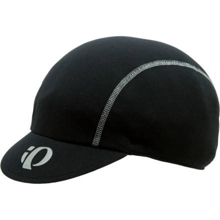 Fitness Stick the Pearl Izumi Transfer Cycling Cap under your helmet to keep your noggin dry. P.R.O. Transfer fabric wicks sweat, and a ponytail-friendly design covers ears. For extra visibility at night, Pearl Izumi hit the Transfer Cycling Cap with reflective logos. - $24.95
