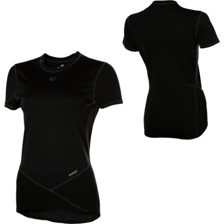 Fitness Go for a thought-stirring ride in your short-sleeve Pearl Izumi Womens Transfer Baselayer Top. Pearl Izumi made this slim-fitting baselayer out of perspiration-booting P.R.O. Transfer fabric because it regulates moisture and stinkin conditions both hot and cool. - $69.95