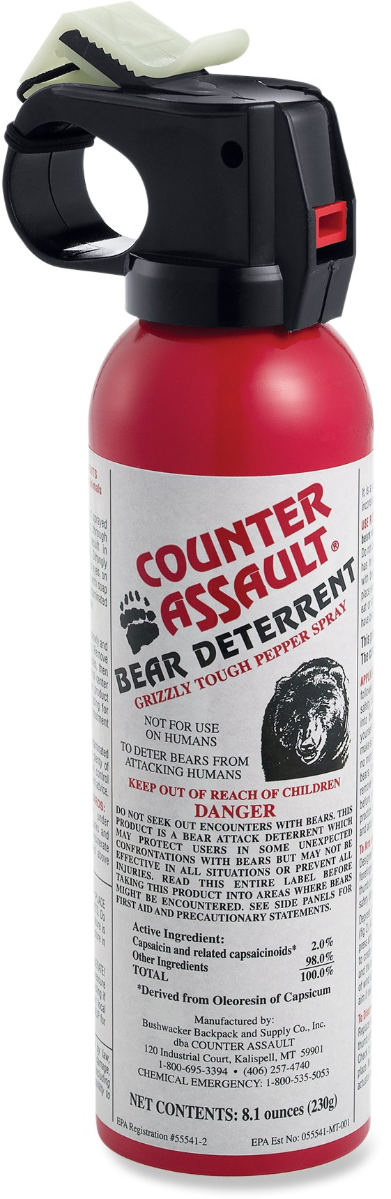 Camp and Hike Counter Assault Bear Deterrent Spray   $45.95