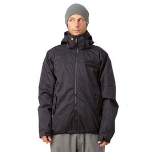 Snowboard Quiksilver Player Mens Insulated Snowboard Jacket - You are in control with the Quiksilver Player 5K Insulated Jacket. Perfect for rocking it on the slopes with friends and cruising around the streets this jacket is going to keep you warm. Featuring 5,000mm of waterproofing keeps you dry and the Taffeta lining insulates your insides. Internal media and goggle pocket helps stores your goods in a perfect location for you. Hand Hammocks keeps all unwanted snow, out of your jacket when you find yourself in deeper snow. The Quiksilver Player jacket, plays by your rules and know one else's. Features: Glove loops and key clip, Sleeve pass pocket, Slim Fit. Exterior Material: Polyester melange herringbone, Insulation Weight: 80gms body, 60gms sleeves/hood, Taped Seams: Critically Taped, Waterproof Rating: 5,000mm, Breathability Rating: 5,000g, Hood Type: Fixed, Pit Zip Venting: Yes, Pockets: 1-3, Electronics Pocket: Yes, Goggle/Sunglasses Pocket: Yes, Powder Skirt: Yes, Hood: Yes, Warranty: One Year, Use: Snowboard, Battery Heated: No, Race: No, Type: Insulated, Cut: Slim, Length: Medium, Insulation Type: Synthetic, Waterproof: Moderately Waterproof (5000mm-19,999mm), Breathability: Moderate Breathability (4000g-8999g), Cuff Type: Velcro, Wrist Gaiter: Yes, Waterproof Zippers: No, Cinch Cord Bottom: Yes, Model Year: 2012, Product ID: 307360 - $89.95