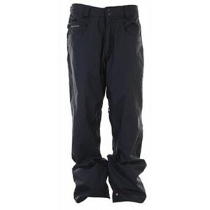 Snowboard Quiksilver Drizzle Shell Mens Snowboard Pants - When the weather makes a turn for the worst on the hill, you want to make sure your gear can handle the conditions. The Quiksilver Drizzle Shell Pant is going to get the job done and keep you warm and dry in the process. This classic style boasts tons of features for convenience and comfort. You'll have 5k worth of breathability and waterproofness ensuring that you stay dry and protect you from the precipitation trying to seep in. On warmer days mesh lined zipper vents allow heat to escape to keep you comfortable, making for a longer, better riding day. On the inside there is a Taffeta Lining which is soft and cozy. With plenty of pocket for storage, you'll love the Drizzle Shell Pant. . Exterior Material: Nylon Twill, Taped Seams: Critically Taped, Waterproof Rating: 5,000mm, Breathability Rating: 5,000g, Thigh Zip Venting: Yes, Articulated Knee: No, Cargo Pockets: No, Warranty: One Year, Waterproof: Moderately Waterproof (5000mm-19,999mm), Breathability: Moderate Breathability (4000g-8999g), Use: Snowboard, Type: Shell, Cut: Regular, Waist: Adjustable, Pockets: 3-4, Model Year: 2012, Product ID: 307399 - $59.99
