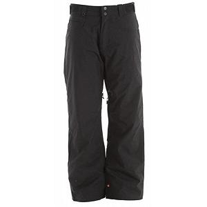 Snowboard Quiksilver Drizzle Insulated Mens Snowboard Pants - The Quiksilver Drizzle Insulated Pant is perfect for weekend warriors and daily shredders. From mist, to a blizzard these 5K Waterproof and breathable pants are going to get the job done right. Internal zipper closed leg venting allows for increased breathability while riding on the slopes. Cuff saver cinch system keeps the Drizzle pant away from the bottom of your snow boots, making them live longer and keep looking fresh all winter long. The Quiksilver Drizzle Pant is your one stop shop for a comfortable performance piece of winter wear. . Insulation Weight: 60gms, Taped Seams: Critically Taped, Waterproof Rating: 5,000mm, Breathability Rating: 5,000g, Thigh Zip Venting: Yes, Articulated Knee: No, Cargo Pockets: No, Warranty: One Year, Waterproof: Moderately Waterproof (5000mm-19,999mm), Breathability: Moderate Breathability (4000g-8999g), Use: Snowboard, Type: Insulated, Cut: Regular, Lining Material: Taffeta Lining, Waist: Adjustable, Pockets: 3-4, Model Year: 2012, Product ID: 307412 - $59.99