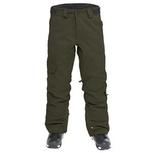 Snowboard Quiksilver Mix Up Shell Mens Snowboard Pants - What's wrong with a little mix up? The Quiksilver Mix Up Shell snow pant offers army-issue appeal and awesome functionality with the highly water-resistant twill fabric and fully taped seams. With 10,000K breathability and waterproofing this pant is going to allow your legs to breathe and stay dry while ripping up and down your local mountain. Cargo pocket allows for extra gear storage without hindering mobility on the slopes. The Quiksilver Mix-Up Shell Pant is going to make your riding seam flawless; if not flawless at least you'll be comfortable. Features: 97% polyester, 3% spandex. Exterior Material: 97% polyester, 3% spandex, Insulation Weight: N/A, Taped Seams: Fully Taped, Waterproof Rating: 10,000mm, Breathability Rating: 10,000g, Full Zip Sides: No, Thigh Zip Venting: Yes, Suspenders: None, Articulated Knee: Yes, Cargo Pockets: Yes, Warranty: One Year, Race: No, Waterproof: Moderately Waterproof (5000mm-19,999mm), Breathability: High Breathability (9000g-15,000g), Use: Snowboard, Type: Shell, Cut: Regular, Lining Material: 100% polyester, Waist: Adjustable, Pockets: 3-4, Model Year: 2012, Product ID: 307542 - $79.99