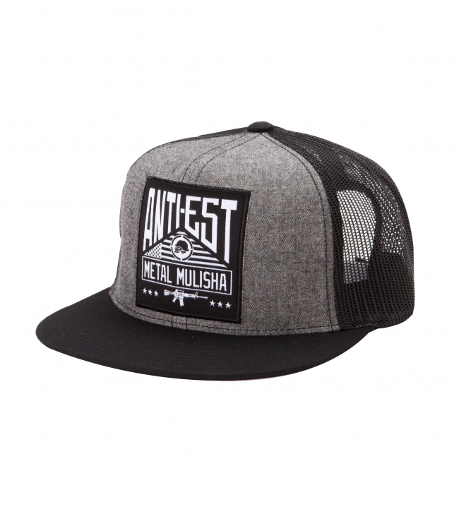 Motorsports Metal Mulisha Mens snapback hat.  50% Nylon / 40% Acrylic / 10% Wool.  Flexfit snapback cap with damask woven label and clip label at snapback. - $15.99