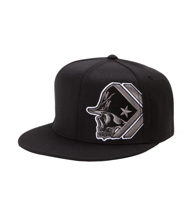 Motorsports Metal Mulisha Mens Hat.  83% Acrylic / 15% Wool 2% PU Spandex.  Flexfit cap with flat embroidery and undervisor screen. - $17.99