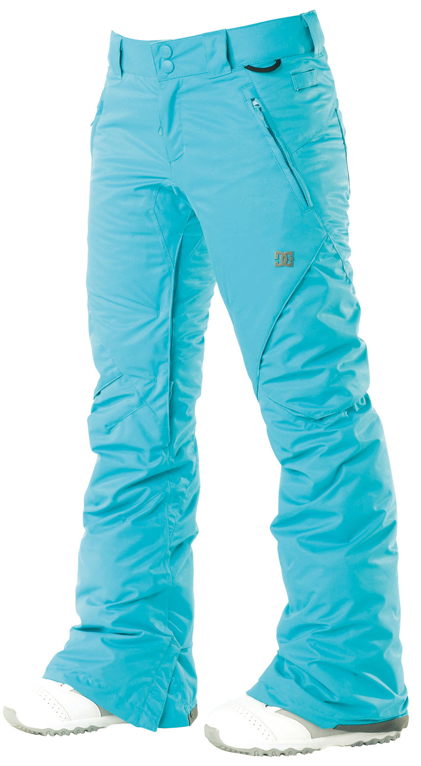 Snowboard With subtle cargo pockets, clean yet modern design, the ace pant is filled with all of dc's standard features. The added insulation will keep you warm in the coldest of climates. Available in both standard and tailored fits.Key Features of the DC Ace S Snowboard Pants: 5,000mm waterproof 5,000g breathability Fit: skinny 100% polyester micro twill midweight Critically taped seams 40g polyinsulation Taffeta lining Mesh lined venting Shant control Boot gaiter Snapped hem boot gusset Lift pass hook - $83.95