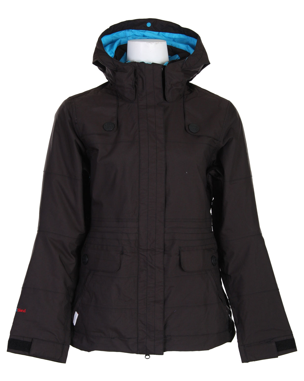 "Snowboard Snowboarding in style and maintaining performance is an essential element to any kind of active wear. Luckily, the Special Blend Joy Snowboard Jacket Shocker is a durable product that enhances performance for any snowboarding enthusiast. The women's jacket has loose fit and easy fold adjustable gusseted cuffs with articulated elbows and an attached waist gaiter. Featuring goggle pockets and hand warmer pockets, the jacket will surely fit your needs on the slopes. The jacket also has a removable liner for increased flexibility.Key Features of The Special Blend Joy Women's Snowboard Jacket: 10,000mm Waterproof 10,000g Breathability Calyx Group Women's Shell Jacket Coated Mini Twill Shed Hood Large Snap Detail Waist Draw Cord Loose Fit Roll Tape 2.25"" double outer front storm flap 2.25"" front storm flap 3/4"" welts to protect vents Adjustable easy-fold gusseted cuffs Articulated elbows Attached waist gaiter Center back hood adjuster Comfort material on the chin Custom lift ticket D-ring Fitted hood with aperture adjustment Flex gussets Fully taped seams Function and comfort designed interiors Fused PVC/taffeta inner drop tail Goggle pocket Gusseted pleats Key clip in hand-warmer pocket Multipurpose inner utility pockets Multiple venting options Powder skirt Powder skirt to pant Velcro system Removable liner system Ride/relax gaiter system Snag-prevention tape in vents Snap holder for hood secure Super BlendTech DWR Waist-cinch drawcords hidden in front pockets Water-repellant inner storm flap Yo yo pass holder at inner hem - $87.95"