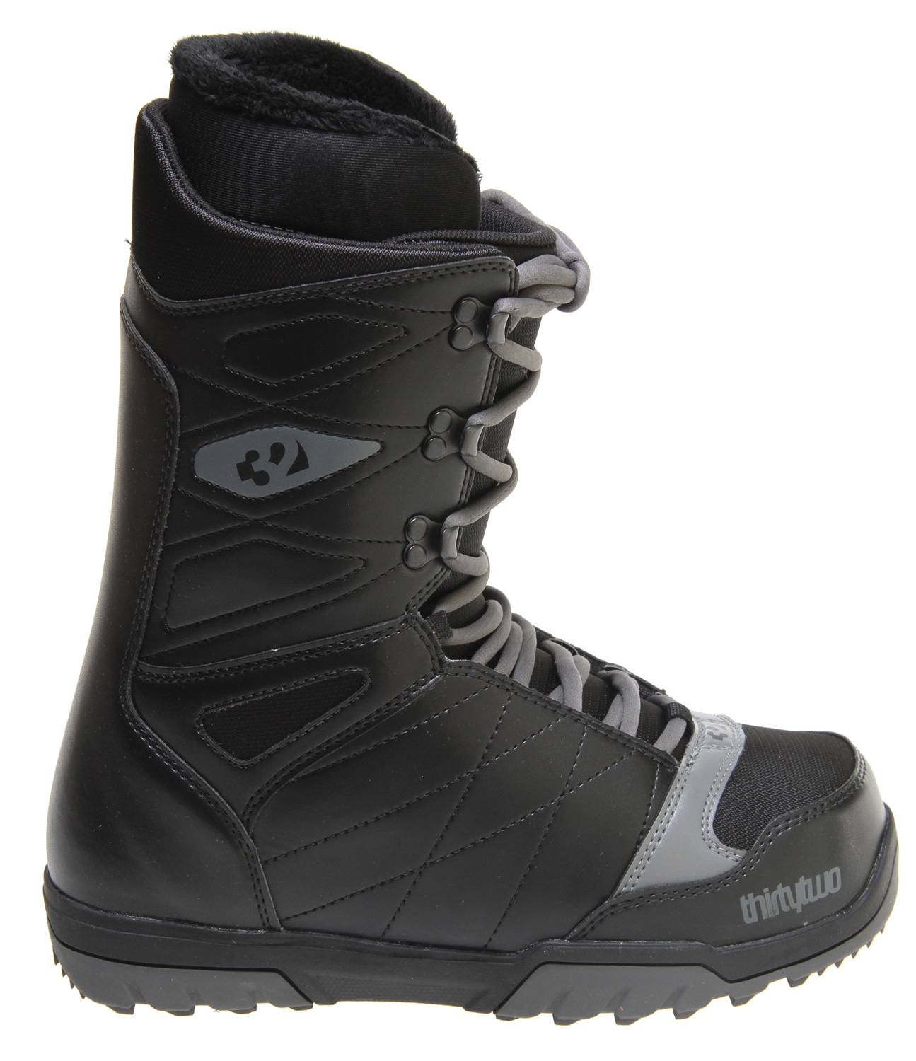 Snowboard The Thirty Two Summit Snowboard Boot is simple and understated to keep you ahead of the learning curve.Key Features of the 32 - Thirty Two Summit Snowboard Boots: Comfort Fit Level 1 Liner Level 1 Ortholite Footbed 3/10 Flex Rating Rubber Outsole With EVA Cushioning Internal Lacing System - $69.95