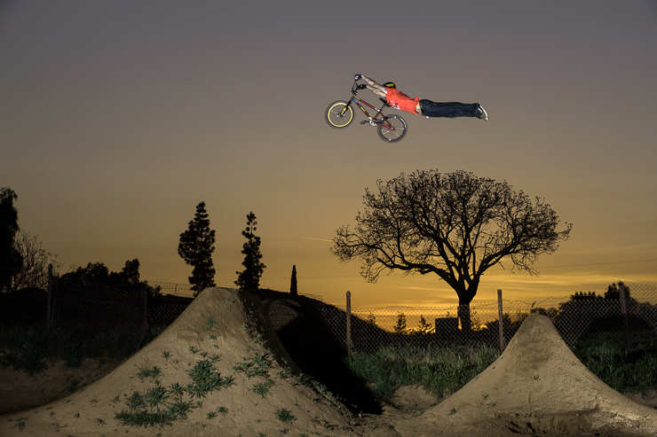 BMX Luke Parslow