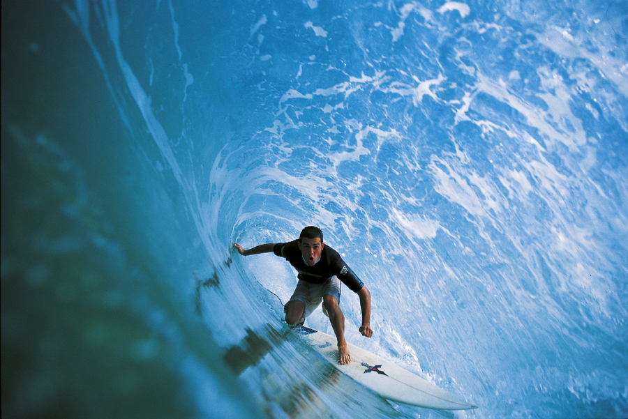 Surf Ian Battrick - Blue Cave
