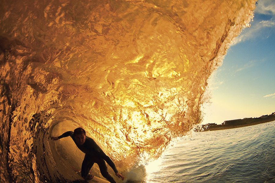 Surf Morning Gold