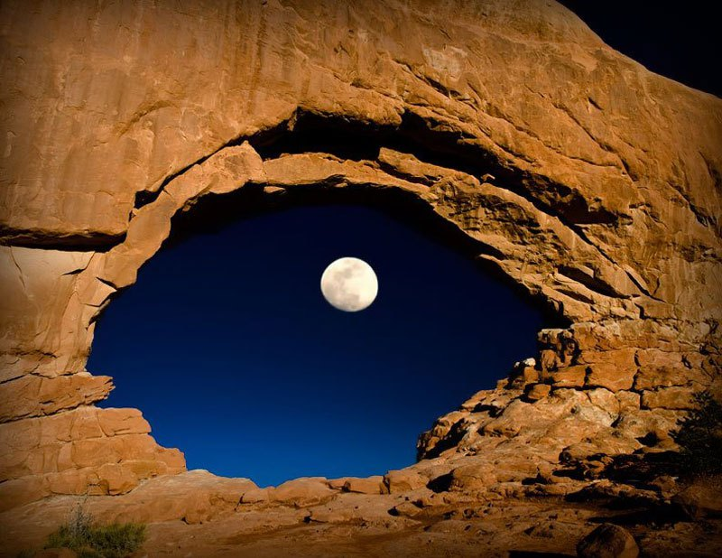 Camp and Hike The Eye of the Moon
