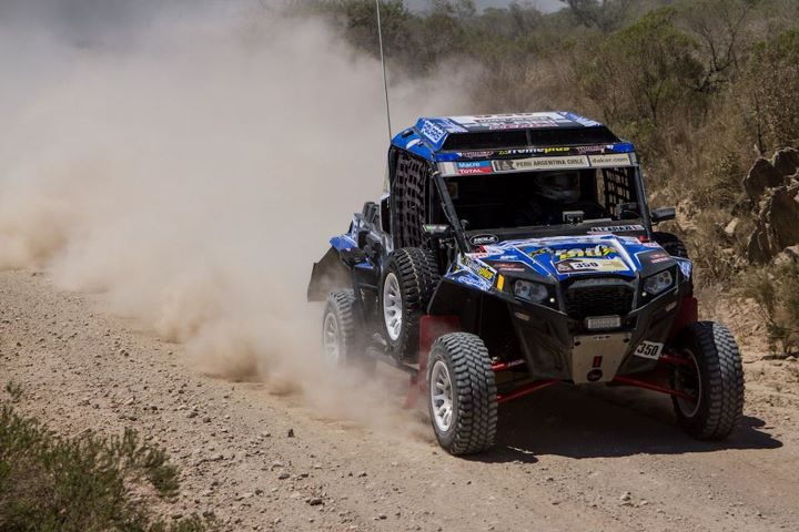 Motorsports Willy Alcaraz from Team Polaris France has reached stage 12 of The 2013 Dakar Rally. He's only 3 stages away from the finish line. We've made some updates to the map section of the application which will allow you to better see where Willy is located. Fol