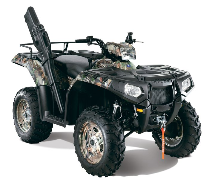 Check out the 2011 Polaris Sportsman XP 550 EPS Browning LE @ http://www.polarisindustries.com/en-us/ATV-RANGER/2011/Sportsman-Outlaw-ATV/Pages/Sportsman-XP-Limited-Editions.aspx