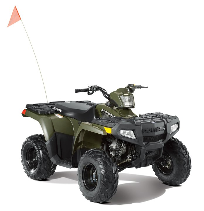 Check out the 2011 Sportsman 90 @ http://www.polarisindustries.com/en-us/ATV-RANGER/2011/Youth-ATV/Sportsman-90/Pages/Overview.aspx