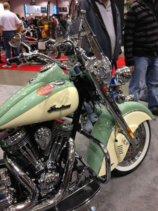 Auto and Cycle Indian Chief Vintage