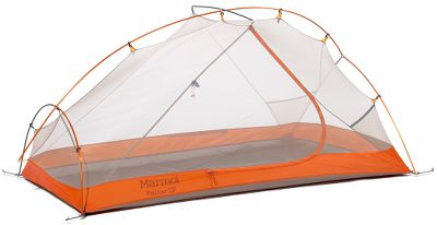 Camp and Hike Great weather protection, ample leg room, solid construction. Experience the protection of a 1,800mm waterproof-rated coating, while the 40-denier nylon floor boasts a heavy-duty, 3,000mm waterproof-rated coating to lock out moisture. Tough, tear-resistant 20-denier polyester canopy. Reverse foot design for additional leg room. Color-coded clips and poles. Fully taped floor and fly seams for added durability. Imported.Dimensions: 87L x 53W x 37H.Overall weight: 3 lbs. 6 oz. - $349.00