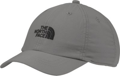 Your young outdoors lover will appreciate the sporty The North Face logo. Quick-drying 100% nylon textured-weave shell has a 100% cotton-twill sweatband liner. Adjustable clip-closure back provides a secure fit. One size fits most. Imported.Colors: Pache Grey, Cosmic Blue. - $20.00