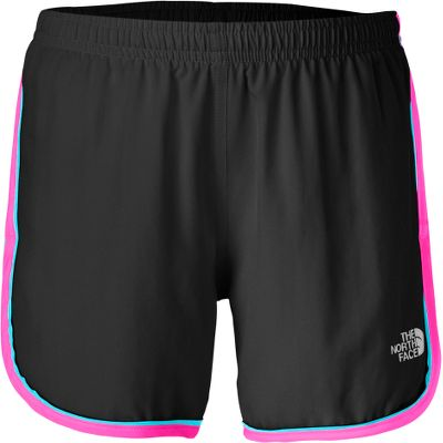 The North Face Girls Velocitee shorts havean encased elastic waistband, internal drawstring and extra coverage at the bottom hem. Internal security pocket holds smaller essentials. Reflective logo on left leg. 100% polyester weave. Imported.Inseam: 3.5.Sizes: XS-XL.Colors: Linaria Pink, Lavendula Purple. Type: Shorts. Size: Large. Color: Lavendula Purple. Size Large. Color Lavendula Purple. - $25.00