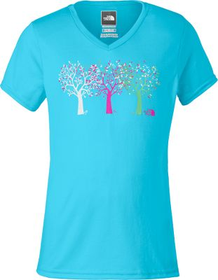 This tee shirt is not only soft and comfortable, but also features a UPF rating of 50 and the moisture-transporting, comfort-preserving power of VaporWick. 100% polyester jersey. Imported.Sizes: XS-XL.Color: Turquoise Blue. - $14.88