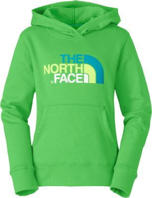 The North Face Girls Multi Half Dome Pullover Hoodie is soft and comfortable with a multicolored, screen-printed The North Face logo. Kangaroo pocket and two-paneled hood. 80/20 cotton/polyester fleece. Imported.Center back length for size Medium: 24.25.Sizes: XXS-XL.Colors: Pixie Purple, Turquoise Blue, Linaria Pink, Mojito Green. Type: Hoodies. Size: X-Large. Color: Pixie Purple. Size Xl. Color Pixie Purple. - $16.88