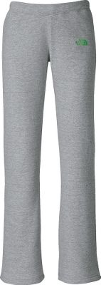 Easy-care, easy-wear fabric will have you outfitted in casual comfort. Embroidered logo at left hip adds a touch of color. Boot-cut legs. Encased elastic waistband with internal drawcord. 80/20 cotton/polyester fleece. Imported.Inseam: 33.Sizes: XS-XL.Colors: Graphite Grey/Linaria Pink, Heather Grey/Mojito Green. - $39.99