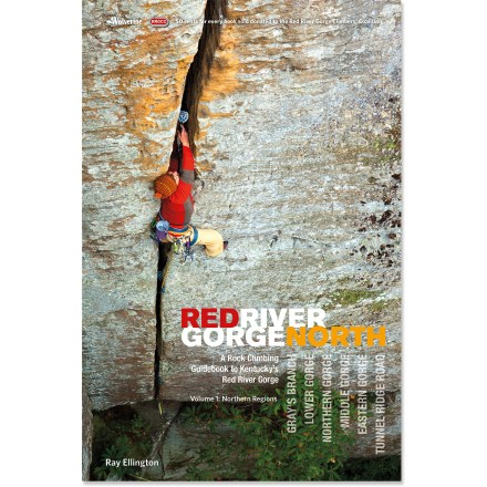 Climbing Red River Gorge Rock Climbs provides detailed information on climbing the spectacular sandstone in eastern Kentucky. This volume covers the northern half of the gorge. - $11.93