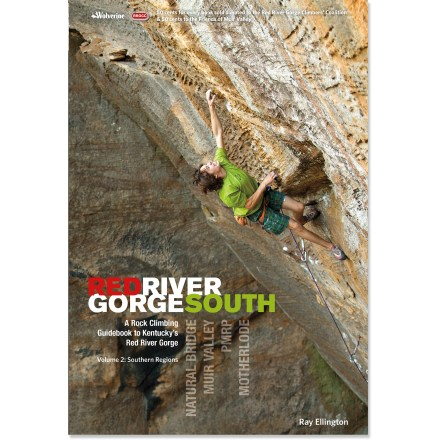 Climbing Red River Gorge Rock Climbs provides detailed information on climbing the spectacular sandstone in eastern Kentucky. This volume covers the southern half of the gorge. - $24.95