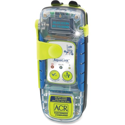Camp and Hike With a screen that shows crucial data, the buoyant ACR AquaLink View Personal Locator Beacon relays your position to Search and Rescue satellites to reduce search time and increase your survival odds. - $499.00