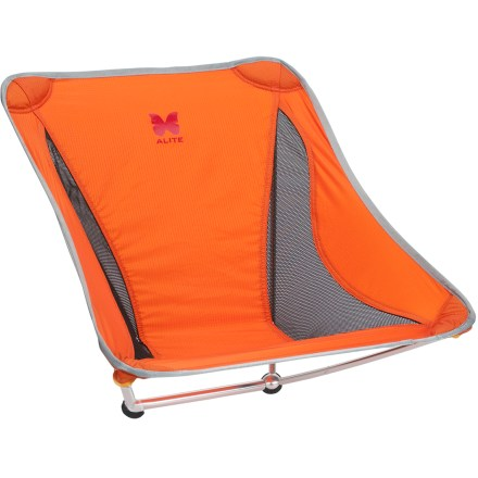 Camp and Hike Take the Alite Mayfly Chair along on any adventure that calls for a long session of lounging. It's perfect for backpacking trips, backyard hangouts, summer concerts and late nights by the campfire. - $63.83