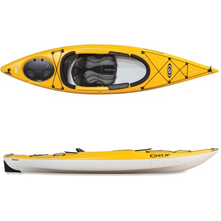 Kayak and Canoe An excellent all-arounder for recreational day trips, this exceptionally stable kayak delivers great times on the water with its remarkably strong, highly maneuverable design. - $649.95