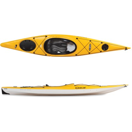 Kayak and Canoe The Elie Strait 120 kayak supplies everything needed to get away from it all-except, or course, an excuse to go paddling! - $679.89