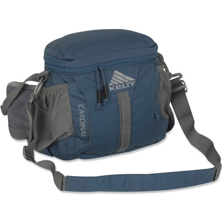 Camp and Hike The versatile Kelty Cardinal lumbar pack expands in volume and converts into a daypack, neatly stowing all your essentials so you can explore the outdoors hands-free. - $29.93