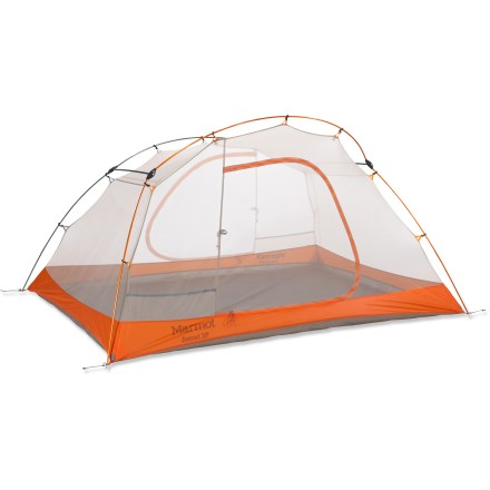 Camp and Hike The Marmot Astral 3P tent is a great option for long backpacking or biking trips where space and weight are main concerns. It offers the protection and reliability needed for wilderness journeys. - $339.93