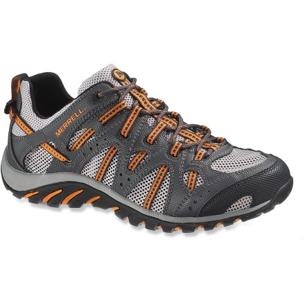 Fitness Merrell WaterPro Manistee water shoes offer a glovelike fit and water-savvy features to keep your feet protected and supported around and beyond the shoreline. - $49.83