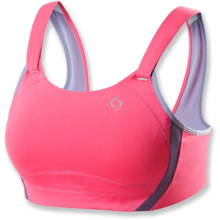 Fitness The Moving Comfort Jubralee sports bra uses high-performance fabrics and sophisticated construction to offer comfortable support for high-impact activity. - $24.73