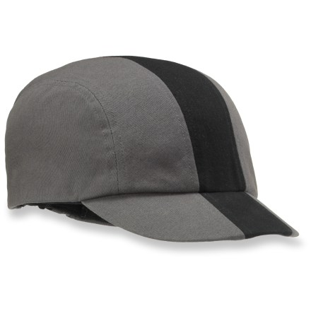 Fitness A perfect post-ride cover-up for helmet hair, our Novara Stripe bike cap offers casual comfort and classic cycling style. - $8.83