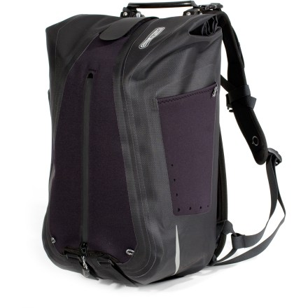 Fitness The Ortleib Vario QL3 Backpack pannier offers easy conversion between backpack and pannier, plus the delightfully easy Quick-Lock3 attachment system and waterproof protection. - $119.93