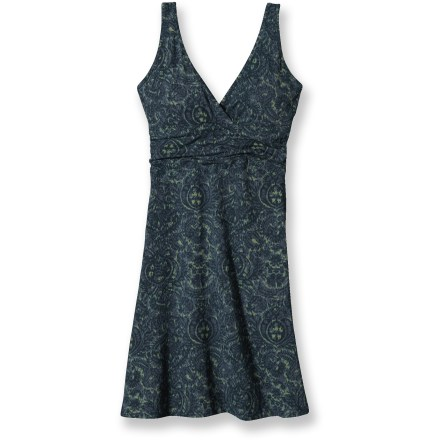Entertainment The Patagonia Margot dress is ready to accompany you anywhere you choose. Soft, breathable fabric travels well, added stretch improves fit and casual style can be dressed up or down for any occasion. - $44.73