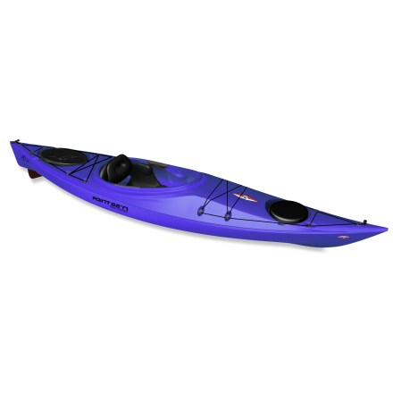 Kayak and Canoe Although you might first notice its striking good looks, the Point 65N XO 11 kayak with skeg also has a winnning personality on the water. - $720.93