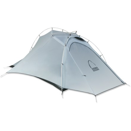 Camp and Hike The Sierra Designs Mojo 2 tent blends ample headroom, abundant mesh, ultra lightweight materials and an integrated rainfly  for outstanding comfort on the trail and a quick, easy setup. - $299.93
