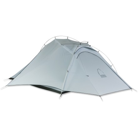 Camp and Hike The Sierra Designs Mojo 3 tent blends ample headroom, abundant mesh, ultra lightweight materials and an integrated rainfly  for outstanding comfort on the trail and a quick, easy setup. - $369.93