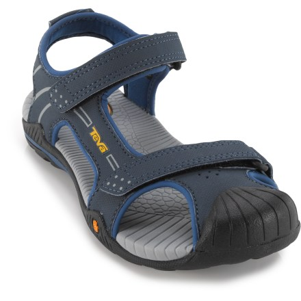 Surf Built for chasing tadpoles at the local lake or exploring the deep end of the pool for sunken treasure, the Teva Toachi 2 sandals are packed full of performance features for young adventurers. - $11.83