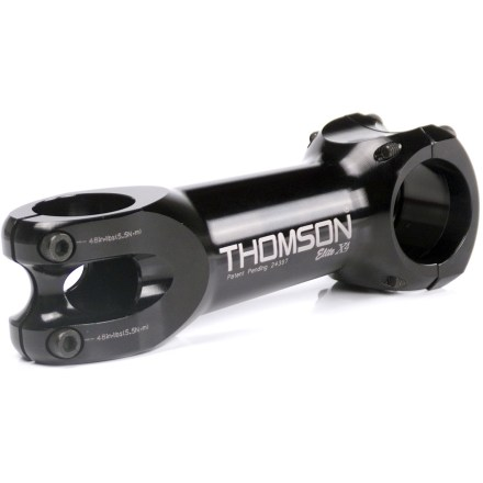 Fitness The Thomson Elite X4 31.8mm stem is designed to have the best combination of stiffness, light weight, strength, and durability. - $90.00