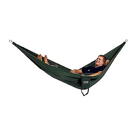 Camp and Hike Free Shipping. Eagles Nest ProNest Hammock The ProNest Hammock by Eagles Nest is the smallest and lightest hammock yet from ENO. The latest hammock from ENO is five ounces lighter than our SingleNest and even more compact but still offers the same ease and comfort that has created a following around the world. To reduce weight, we redesigned the attachment point, using custom aluminum carabiners and created for the hammock that is smaller, yet just as comfortable as any of our other hammocks. The ProNest's size and weight allows users to pack more and go further wherever their adventures bring them. - $64.95