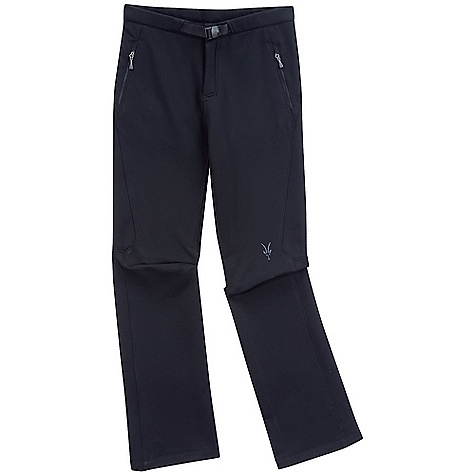 Free Shipping. Ibex Men's Tuck Pant DECENT FEATURES of the Ibex Men's Tuck Pant Semi-fit Tunnel waistband with integrated web belt Articulated knees Adjustable shock cord and lock at pant leg hem 7in. Hand warmer pockets 6in. Back pocket Front fly with hard action snap Inseam: small: 31.5in., medium: 32in., large: 32.5in., extra large: 32.5in. Imported The SPECS Fabric: 82% Polyester, 18% Wool Climawool 2-way Stretch Wool Double Weave 252 g/m2 - $194.95