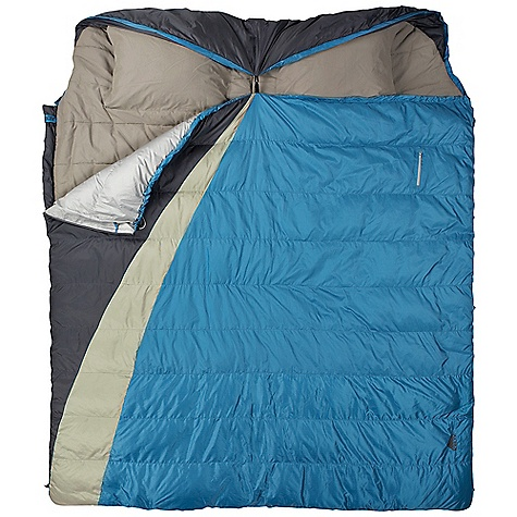 Camp and Hike Free Shipping. Kelty Supernova 30 Degree 3-In-1 Sleeping Bag DECENT FEATURES of the Kelty Supernova 30 Degree 3-In-1 Sleeping Bag Box-baffle construction (top) Layered off-set quilt construction (bottom) Dual slider locking blanket zipper Zipper draft tube with anti-snag design FatMan and Ribbon drawcords Captured cordlock Top can be used as a stand-alone lightweight down bag Bottom half can be used as a blanket Two pillow pockets Zippered chest pockets Binto included for storage and transport The SPECS Temperature Rating: 30deg F / -1deg C Shape: Double Insulation: 550 Fill-Power Down and CloudLoft Shall: 50D Polyester Ripstop Liner: 50D Polyester Micro Pongee Fits To: 6' 6in. / 198 cm Length: 87in. / 221 cm Shoulder Girth: 136in. / 345 cm Fill Weight: 7 lbs 1 oz / 3.16 kg Total Weight: 8 lbs 6 oz / 3.75 kg Stuff Diameter: 20in. / 51 cm Stuff Length: 20in. / 51 cm Stuff Height: 19in. / 48 cm - $299.95