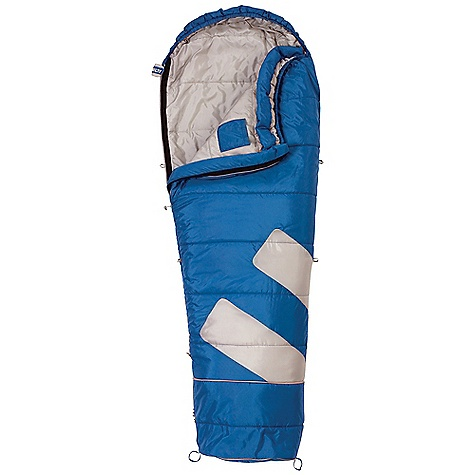 "Camp and Hike Free Shipping. Kelty Big Dipper 30 Degree Junior Sleeping Bag DECENT FEATURES of the Kelty Big Dipper 30 Degree Junior Sleeping Bag Layered, offset, quilt construction Top draft collar Zipper draft tube with anti-snag design Sleeping pad security loops Hang loops for storage 3/4-length, two-way locking zipper Pillow pocket Includes integrated compression storage sack Internal storage pocket Expandable foot section lengthens the bag by 12"" The SPECS Temperature Rating: 30deg F / -1deg C Shape: Mummy Insulation: CloudLoft Shall: 66D Polyester Taffeta Liner: 66D Polyester Taffeta Fits To: 5' 4in. / 163 cm Length: 72in. / 183 cm Shoulder Girth: 56in. / 142 cm Fill Weight: 2 lbs / 0.90 kg Total Weight: 3 lbs 8 oz / 1.57 kg Stuff Diameter: 10in. / 25 cm Stuff Length: 20in. / 51 cm - $69.95"