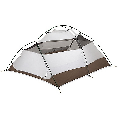 Camp and Hike On Sale. Free Shipping. MSR Holler 3 Person Tent DECENT FEATURES of the MSR Holler 3 Person Tent Added Space: Two doors, large vestibules, gear lofts and floor plans designed around large Thermo-a-Rest mattresses accommodate taller campers, extra gear and more Added Protection: Stout geometry handles light snows and robust winds while fabric canopies cut down on drafts Excellent Ventilation: Mesh windows and fly vents minimize condensation Pack able: Packed with features and space yet still easily pack able anywhere you want to go Unrivaled Access: Large doors at head and toe create uncompromised access for everyone Extra Strong: Unique pole geometry adds strength for shoulder-season adventures Spacious: Large floor plan accommodates three 64 cm (25in.)-wide mattresses and taller campers The SPECS Capacity: 3 Person Doors: 2 Minimum Weight: 6 lbs / 2.73 kg Packed Weight: 6 lbs 9 oz / 2.97 kg Floor Area: 4.4 square meter / 47 square feet Vestibule Area: 1.6 square meter / 17 square feet Tent Volume: 114 cubic feet / 3229 liter Vestibule Volume: 13.5 cubic feet / 382 liter Interior Peak Height: 45in. / 114 cm Packed Size: 18in. x 8in. / 46 x 20 cm Fabric: Fly: 40 D X 238T ripstop nylon 6, 1,500 mm Durashield polyurethane and silicone coated, Canopy: 20 D X 330T ripstop nylon 66, 40 D X 238T ripstop nylon 6, Floor: 40 D x 238T ripstop nylon 6, 3000 mm Dura Shield polyurethane coated This product can only be shipped within the United States. Please don't hate us. - $239.96